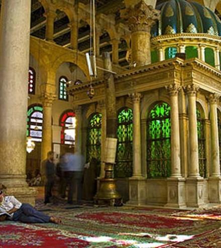 1_la Grande mosquée des Omeyyades à Damas