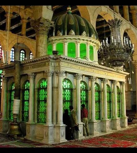 2_la Grande mosquée des Omeyyades à Damas