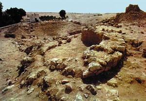 Vestiges exhumés à Ubar