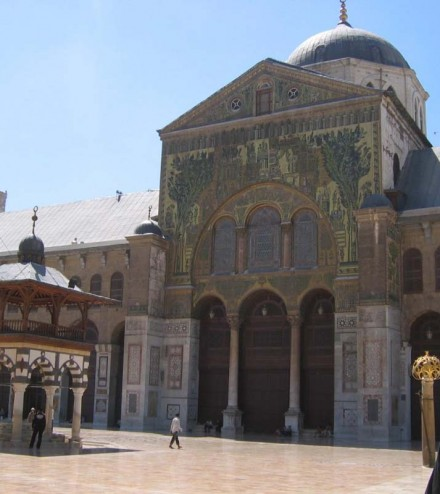 c_la Grande mosquée des Omeyyades à Damas