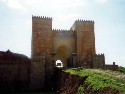 ruines de l'antique ville de Ninive